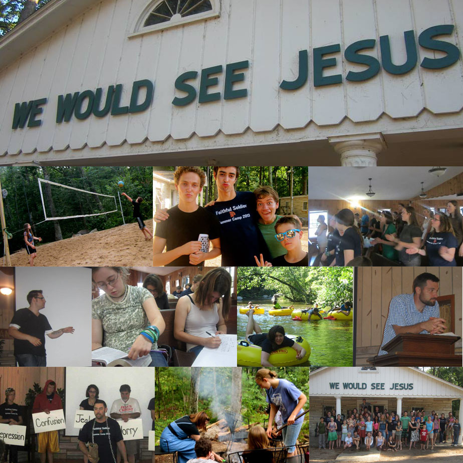 We Would See Jesus - Faithful Soldier Summer Camp