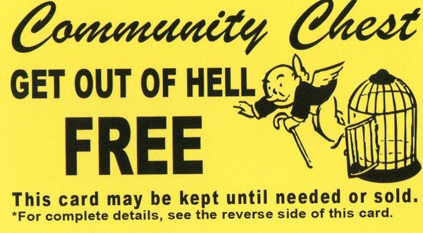 Cheap evangelism - Get out of hell free card - Solid Reasons